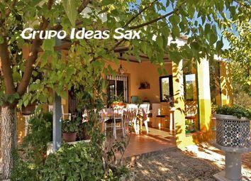 Thumbnail 2 bed villa for sale in Sax, Alicante, Spain
