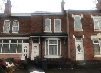 Thumbnail 9 bed terraced house to rent in Dora Road, Small Heath, 9 Bedroom Hmo