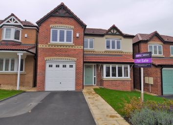 Thumbnail 4 bed detached house for sale in Hesley Road, Harworth, Doncaster