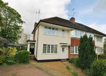 Thumbnail 2 bed maisonette to rent in Castleview Road, Weybridge, Surrey