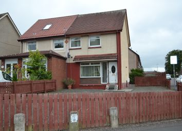 Thumbnail 2 bed semi-detached house for sale in Keith Street, Bellshill