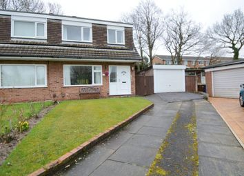 Thumbnail 3 bed semi-detached house for sale in Lorgill Close, Davenport, Stockport