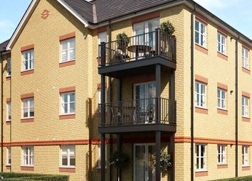 Thumbnail 1 bed flat for sale in Laburnum Way, Staines-Upon-Thames, Surrey