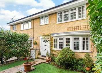 Thumbnail 3 bed terraced house for sale in Outram Place, Weybridge, Surrey