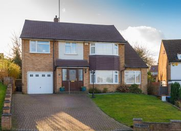 Thumbnail 5 bed detached house for sale in Brookside Crescent, Cuffley, Potters Bar