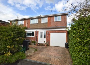 Thumbnail 4 bed semi-detached house for sale in Wells Avenue, Feniton, Honiton, Devon