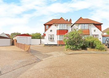 Thumbnail 3 bedroom link-detached house for sale in Canford Gardens, New Malden