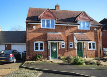 Thumbnail 2 bed semi-detached house to rent in Wirethorn Furlong, Haddenham, Aylesbury