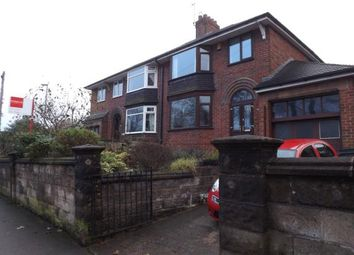 Thumbnail 3 bed semi-detached house for sale in Hartshill Road, Stoke-On-Trent, Staffordshire