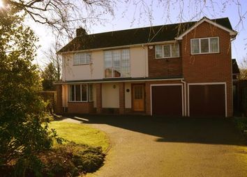 Thumbnail 4 bed detached house for sale in Stafford Road, Lichfield, Staffordshire