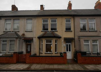 Thumbnail 2 bedroom terraced house for sale in Bishton Street, Newport
