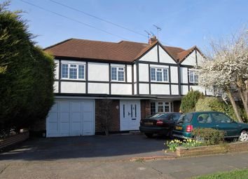 Thumbnail 4 bed semi-detached house for sale in The Ridge Way, Harold Wood