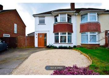Thumbnail 3 bed semi-detached house to rent in Ravensbourne Drive, Woodley, Reading