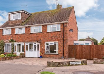 Thumbnail 3 bed end terrace house for sale in Meadow Way, Littlehampton
