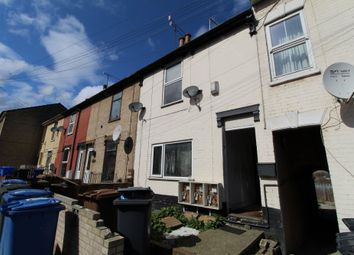Thumbnail 3 bed terraced house for sale in Burrell Road, Ipswich