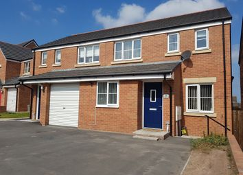 Thumbnail 3 bed semi-detached house for sale in Cilgant Y Lein, Pyle, Bridgend
