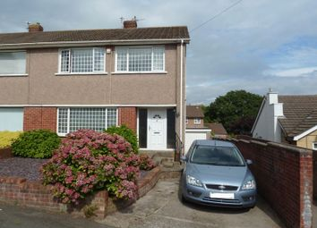 Thumbnail 3 bed semi-detached house for sale in Collard Crescent, Barry