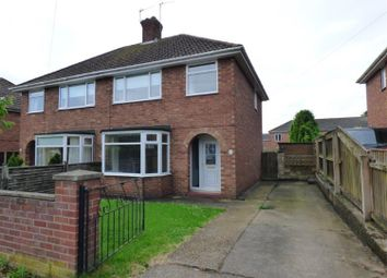 Thumbnail 3 bed semi-detached house for sale in Holmes Close, Louth