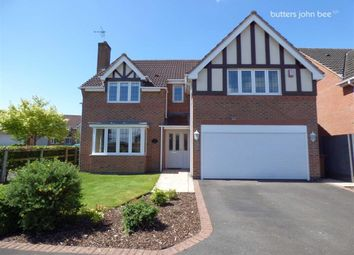 Thumbnail 4 bed detached house for sale in Wedgwood Avenue, Stone, Staffordshire