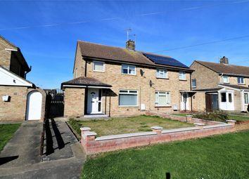 Thumbnail 3 bed semi-detached house for sale in Britannia Crescent, Wivenhoe, Colchester, Essex