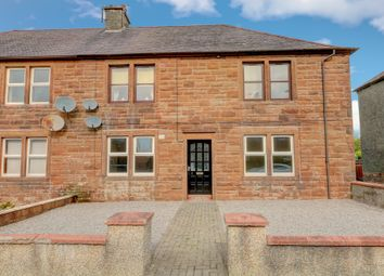 Thumbnail 2 bed flat for sale in Leonard Terrace, Lockerbie