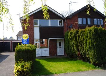 Thumbnail 3 bed semi-detached house to rent in Warwick Close, Market Drayton