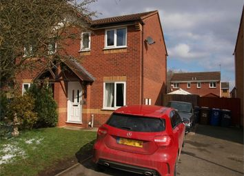 Thumbnail 2 bed semi-detached house to rent in Fontwell Road, Branston, Burton-On-Trent, Staffordshire