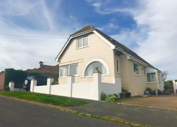 Thumbnail 4 bed detached bungalow for sale in Amhurst Road, Telscombe Cliffs, Peacehaven