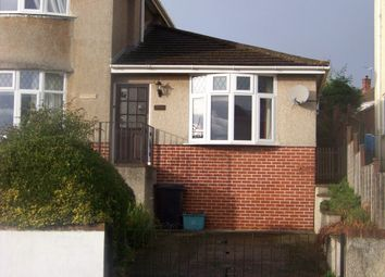 Thumbnail 1 bed bungalow to rent in Brendon Avenue, Weston-Super-Mare