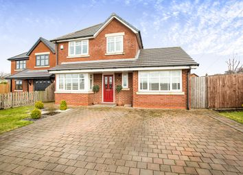 Thumbnail 4 bed detached house for sale in Charter Lane, Charnock Richard, Chorley