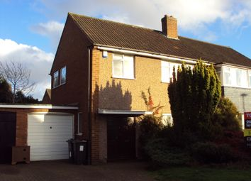 Thumbnail 3 bedroom semi-detached house to rent in Peach Ley Road, Birmingham