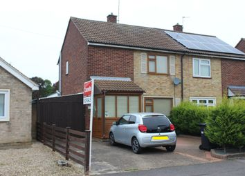 Thumbnail 2 bed semi-detached house for sale in Lavender Crescent, Peterborough