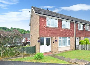 Thumbnail 3 bed end terrace house for sale in Brendon Avenue, Walderslade, Chaham, Kent