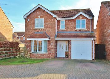 Thumbnail 4 bed detached house for sale in Highfield Grove, Bubwith, Selby