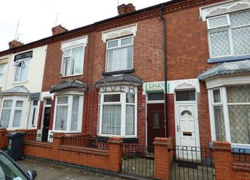 Thumbnail 2 bed terraced house for sale in Cranmer Street, Leicester