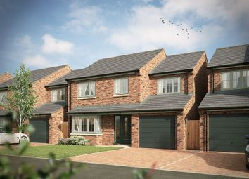 Thumbnail 4 bed detached house for sale in Tudor Close, Market Drayton