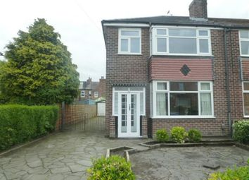 Thumbnail 3 bed semi-detached house to rent in Hawthorn Avenue, Timperley