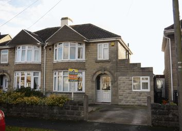 Thumbnail 4 bedroom semi-detached house for sale in Cornwall Avenue, Swindon