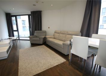 Thumbnail 1 bedroom flat to rent in Pinnacle Tower, Fulton Road, Wembley