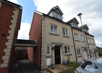 Thumbnail 3 bedroom end terrace house for sale in Bayfield Wood Close, Chepstow