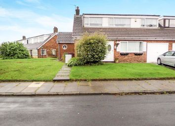 Thumbnail 4 bedroom semi-detached house for sale in Fellside, Harwood, Bolton