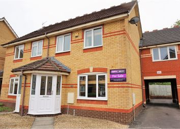 Thumbnail 3 bed semi-detached house for sale in Kingham Close, Chippenham