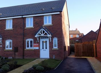 Thumbnail 3 bed semi-detached house to rent in Lower Pingle Road, Ashbourne, Derbyshire