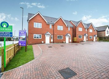 Thumbnail 3 bed semi-detached house for sale in Gatehouse Mews Lidsey Road, Woodgate, Chichester