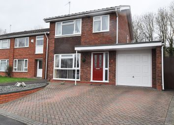Thumbnail 3 bed detached house for sale in Middleton Close, Winyates East, Redditch