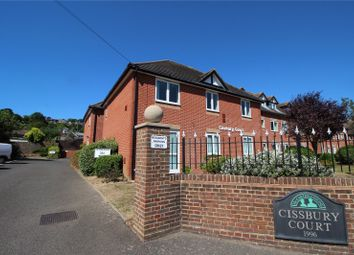 Thumbnail 1 bed flat for sale in Cissbury Court, Findon Road, Findon, Worthing