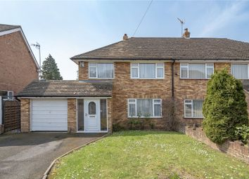 Thumbnail 3 bedroom semi-detached house for sale in Woodhall Close, North Uxbridge, Middlesex