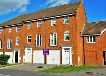 Thumbnail 3 bed town house for sale in Toad Hall Crescent, Rochester