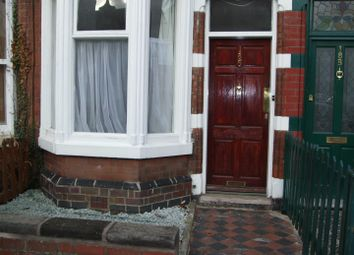 Thumbnail 3 bedroom terraced house to rent in Clarendon Park Road, Leicester