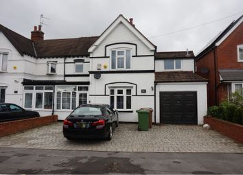 Thumbnail 4 bed semi-detached house to rent in Haslucks Green Road, Solihull
